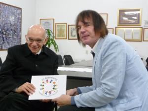 Julian Lloyd Webber with José Antonio Abreu