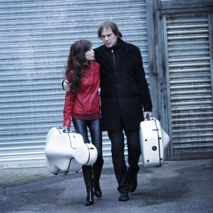 Jiaxin and Julian Lloyd Webber A Tale of Two Cellos cover photo