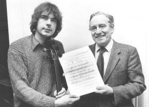 Julian Lloyd Webber with Sir Charles Mackerras