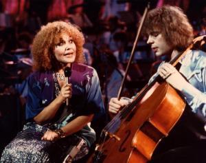 Julian Lloyd Webber and Cleo Laine