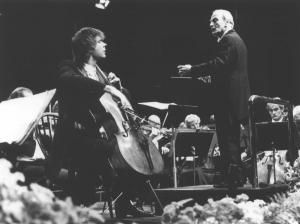 Julian Lloyd Webber in concert with Yehudi Menuhin