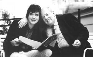 Julian Lloyd Webber with Malcom Arnold