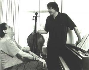Philip Glass with Julian Lloyd Webber