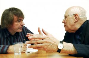 Rostropovich with Julian Lloyd Webber